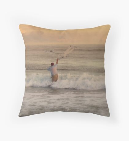 fishermans net Throw Pillow