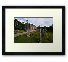 Arachacle Church Of Scotland Framed Print