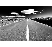 Desert Road Photographic Print
