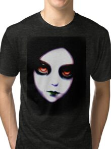 Gothic Girl Tri-blend T-Shirt