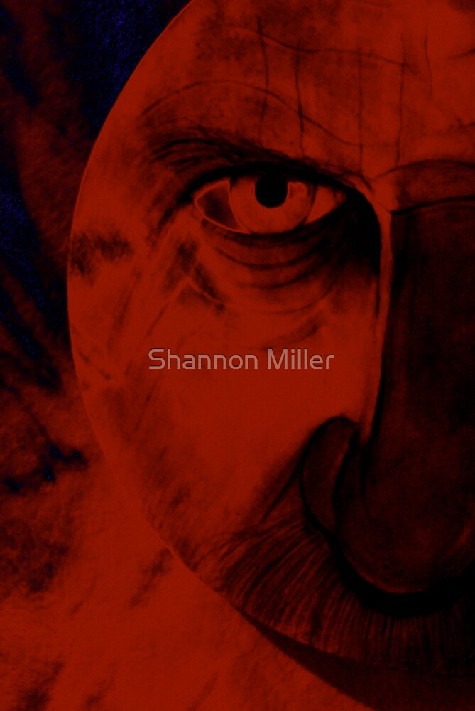 Evil eye by Shannon Miller