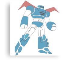 Hiro's Robot T-Shirt Canvas Print