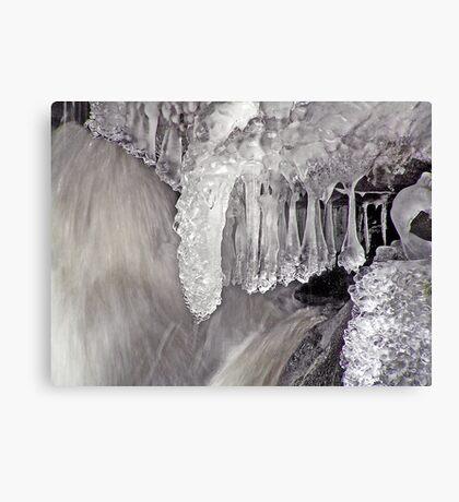 Frozen Falls ! Canvas Print
