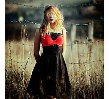 red bra Photographic Print
