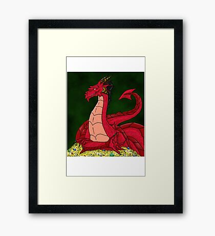 Nepenthes the Dragon Framed Print