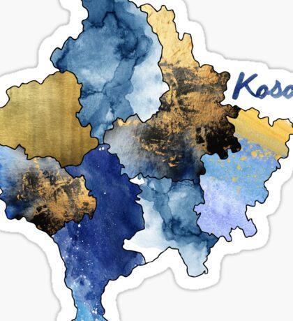 Watercolor Countries - Kosovo Sticker
