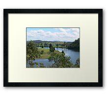 Manning River Taree N.S.W. Australia. Framed Print