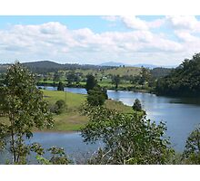 Manning River Taree N.S.W. Australia. Photographic Print