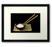 Rice Noodles Framed Print