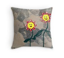 I Like Growing Next To You Throw Pillow