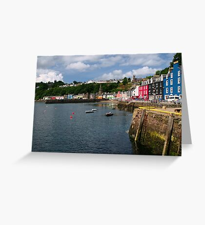 Tobermory, Isle of Mull Greeting Card