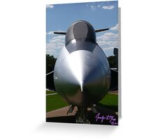 Jet Greeting Card