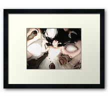 ode to klimt Framed Print