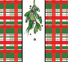 Christmas Mistletoe by graphicward