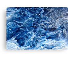 Inverted Waves Canvas Print