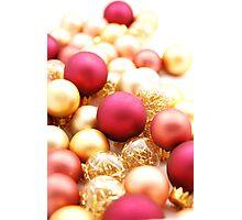 Christmas Ornaments Photographic Print