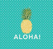 pineapple aloha by stephaniewoon