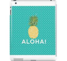 pineapple aloha iPad Case/Skin