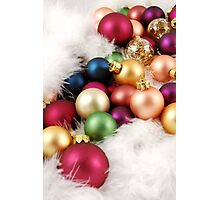 Christmas Ornaments Photographic Print