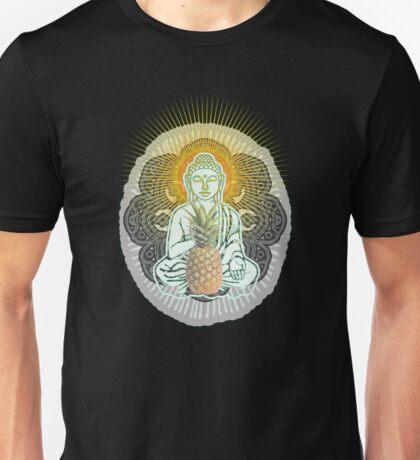 Pineapple Buddha Unisex T-Shirt