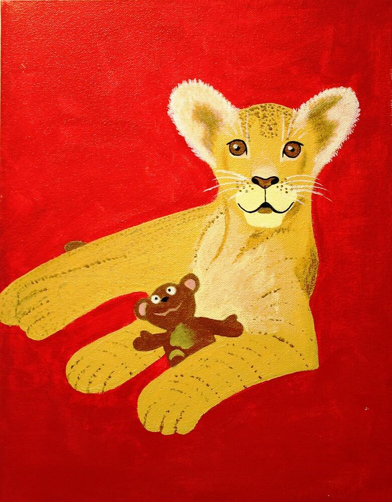 lion cub by Naddl