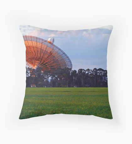 Parkes Observatory Throw Pillow