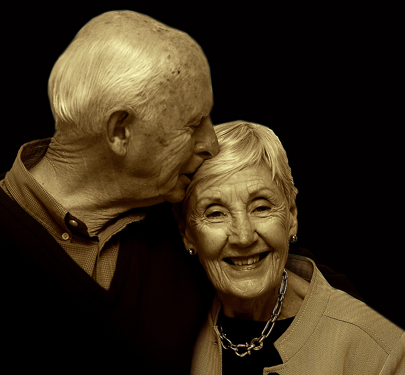 My beautiful Mum & Dad by Melinda Kerr