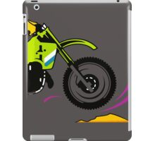 Motocross racer. iPad Case/Skin