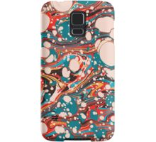 Psychedelic Marbling Paper Blob Samsung Galaxy Case/Skin
