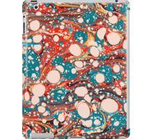 Psychedelic Marbled Paper Splash Blob iPad Case/Skin