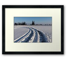 The Long Way Around Framed Print