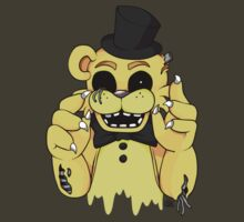 Dismantled Golden Freddy by InkyBlackKnight