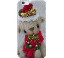 Noelle, Handmade bear from Teddy Bear Orphans iPhone Case/Skin