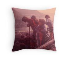 Different points of view Throw Pillow