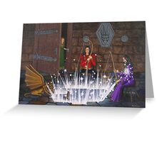 Wizards Fishing Hole Greeting Card
