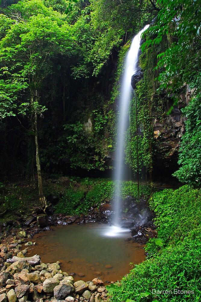 Crystal Shower Falls by Darren Stones