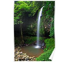 Crystal Shower Falls Poster