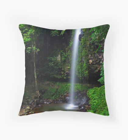 Crystal Shower Falls Throw Pillow