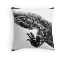 Goanna : Varanus gouldii Throw Pillow
