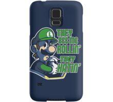 Luigi MK8 - Ridin' Dirty Samsung Galaxy Case/Skin