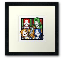 Castle Crashers Four-Square Framed Print