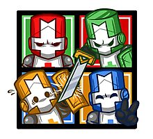 Castle Crashers Four-Square Photographic Print
