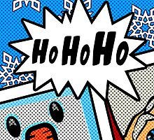 Pop Art Ho Ho Ho by SquareDog