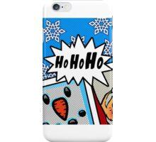 Pop Art Ho Ho Ho iPhone Case/Skin