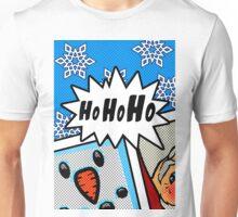 Pop Art Ho Ho Ho Unisex T-Shirt
