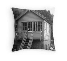 Highley Signal Box Throw Pillow