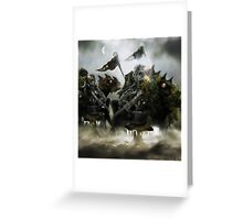 Robot Beings of the Mecha-Frost 2 Greeting Card