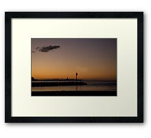 Coolangatta Sunset Framed Print