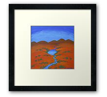 RIVER OF HOPE (OUTBACK AUSTRALIA) Framed Print