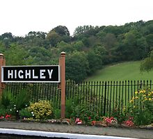 Highley Station II by Justine Humphries